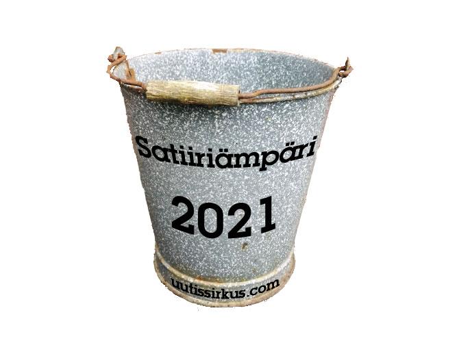 Satiiriämpäri 2021 -kirjoituskilpailu